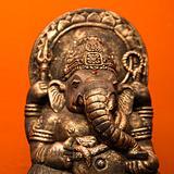 Hindu statue.
