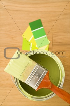 Paint with color swatches.