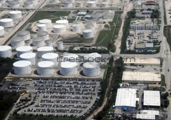 Oil fuel storage