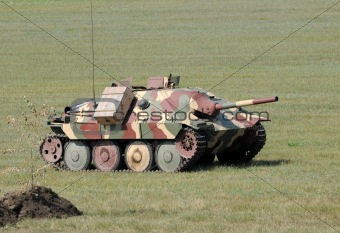 Old WW2 tank