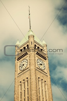 Clock Tower in Minneapolis