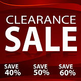 Clearance Sale Background