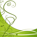 Green Leaf Nature Vine Background
