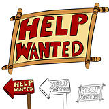 Help Wanted Sign Set