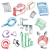 Business Financial Accounting Drawing Set