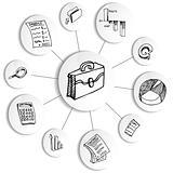 Business Financial Accounting Diagram Wheel