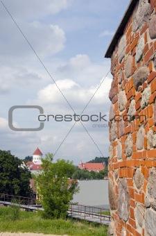 Lithuanian  capital Vilnius old town