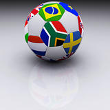 3D Render of Soccer Ball