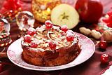 Cake Charlotte for Christmas