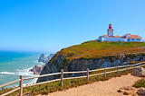 Roca cape lighthouse in Portugal