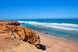 Atlantic coast in Portugal