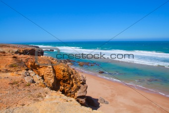 Atlantic coast in Portugal