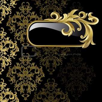 Image 4104934: Black and gold background from Crestock Stock Photos