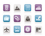 Travel, vacation and holidays icon