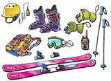 Backcountry freeride stuff for the skiers