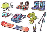 Backcountry freeride stuff for the snowboarders