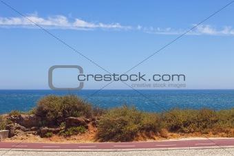 Cycleway on the Atlantic seaboard