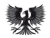 Heraldic eagle