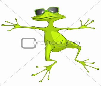 Cartoons_0001_Frog_Vector