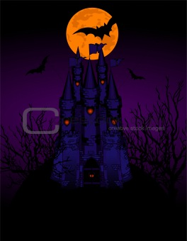 Haunted Castle invitation card