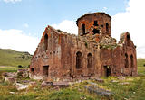 Old Red Church Kizil Kilsie Turkey