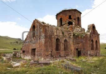 Old Red Church Kizil Kilsie Turkey