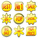 Sale buttons set