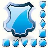 Blue shields