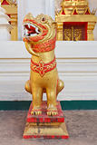 Lion statue