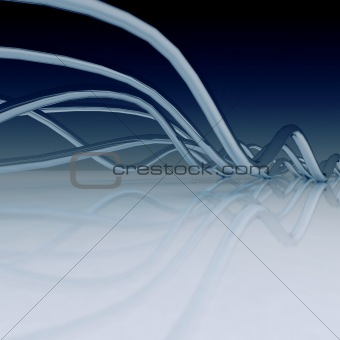 Abstract Background - 3D Render