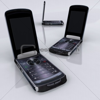 3D Rendered - Mobiles