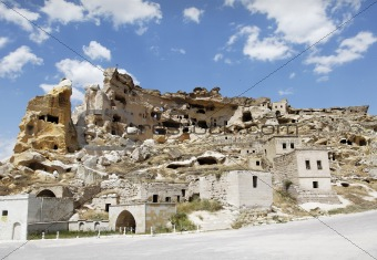 cave village province of Goreme Turkey