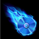 Burning blue CD