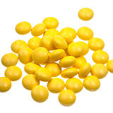 many yellow vitamin drug