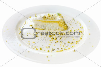 Cassata  - traditional sicilian sweet from ricotta