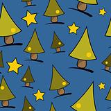 Christmas theme blue background