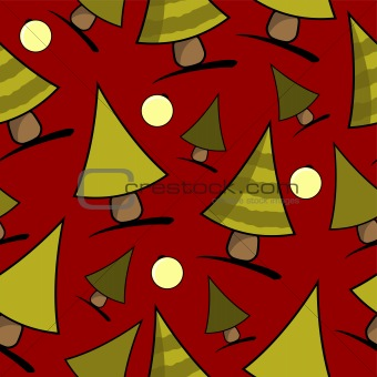 Christmas theme red background