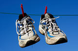 Hang up your old running shoes