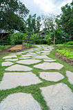 Tract stones in the Beautiful garden