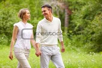 Stride in park