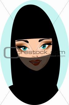 Arabian portrait.