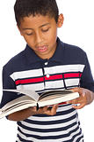 Child Reading the Word of God