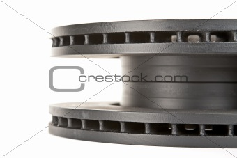 brake discs  side view