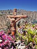 Wooden Christian crucifix