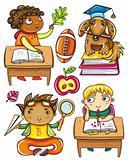 Funny schoolchildren series 3