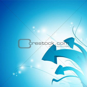 arrow abstract background
