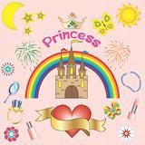 Princess background.