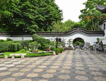 Image description chinese garden
