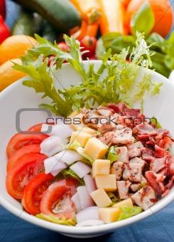 fresh classic caesar salad