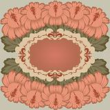 Vintage floral design.